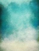 Blue Green Fog