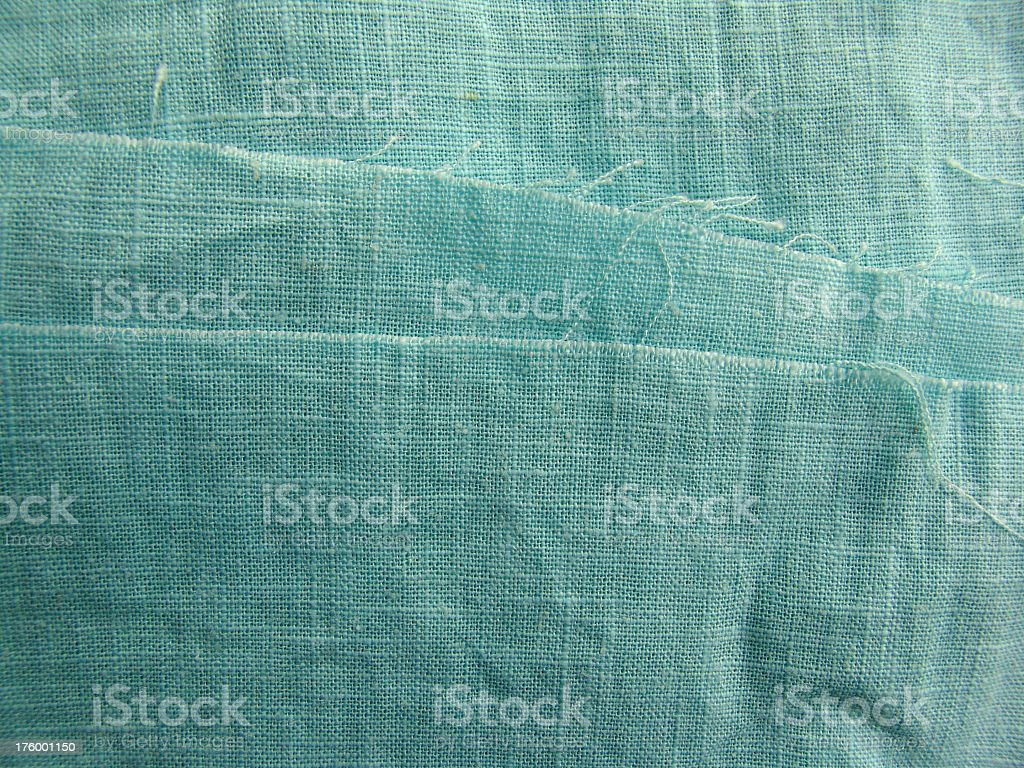 Blue green linen royalty-free stock photo