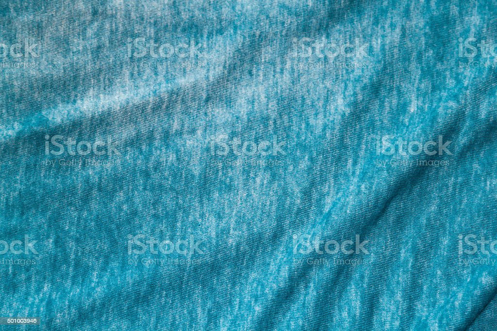 Blue green spandex fabric stock photo
