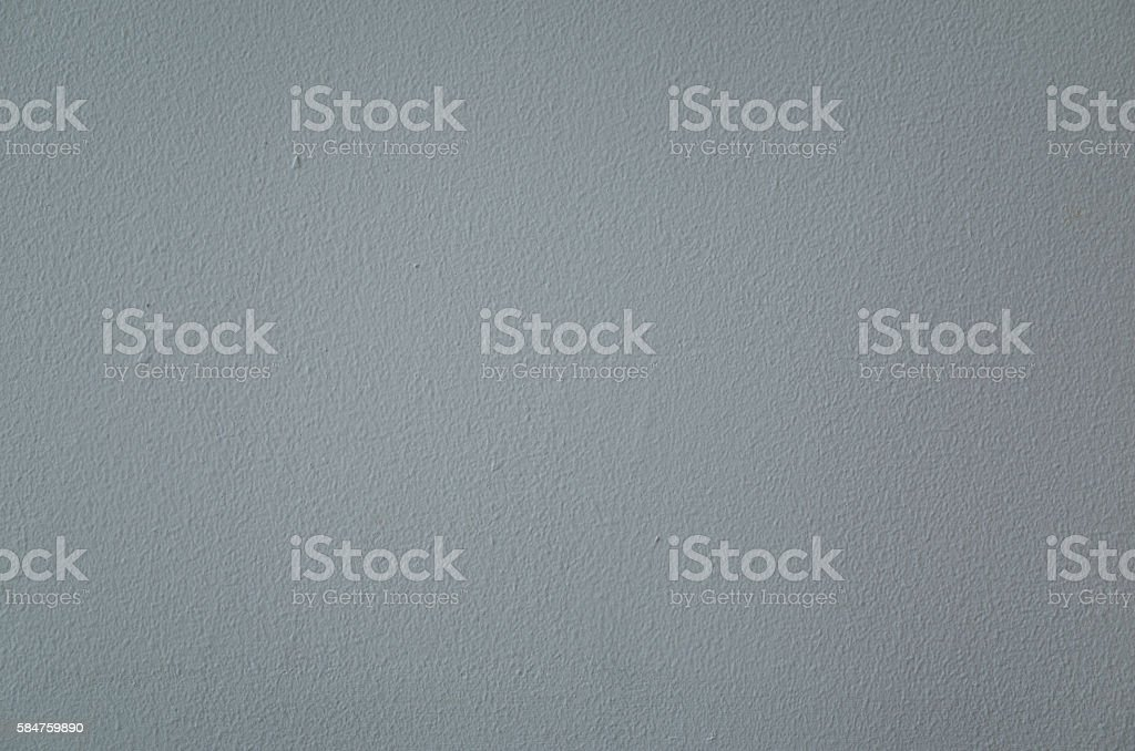 Blue Grey Interior Wall Painted using Paint Roller stock photo