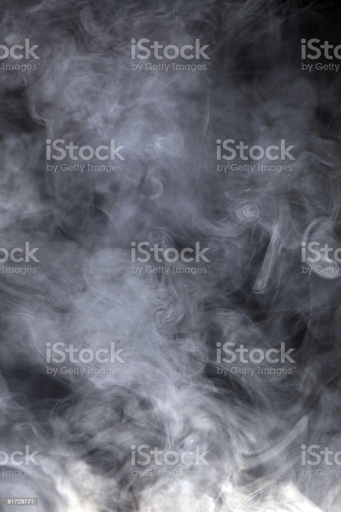 blue grey  smoke stock photo