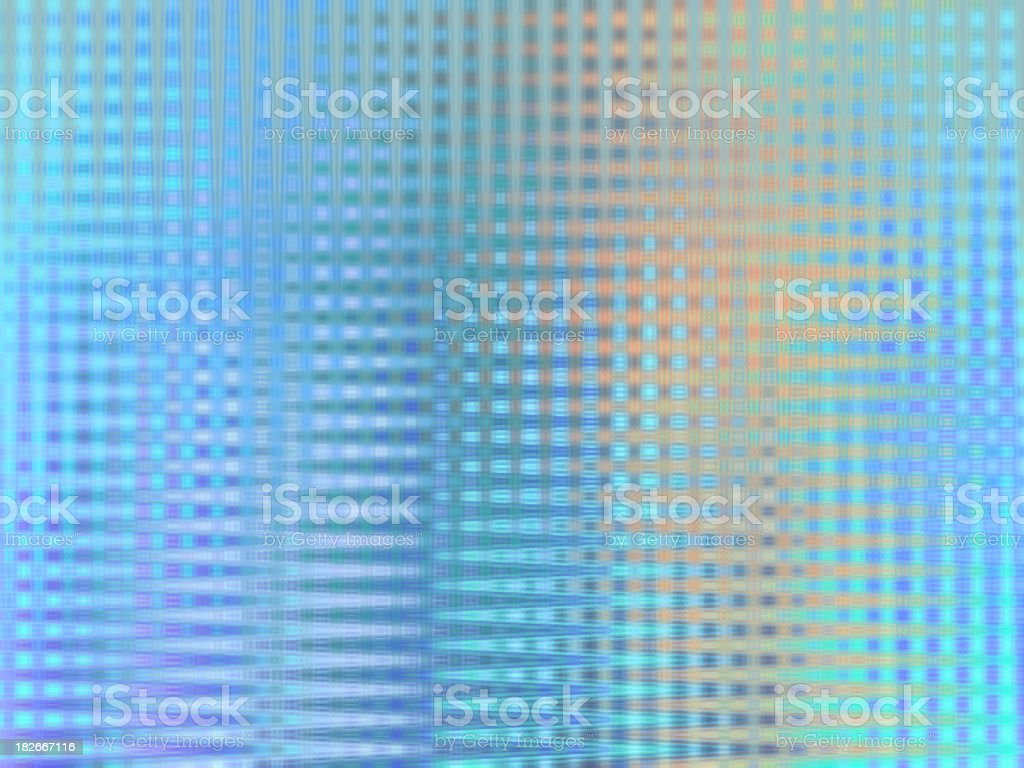 blue grid glass royalty-free stock photo