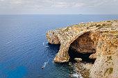 Blue Grotto, Il-Qrendi, Malta (wide angle)