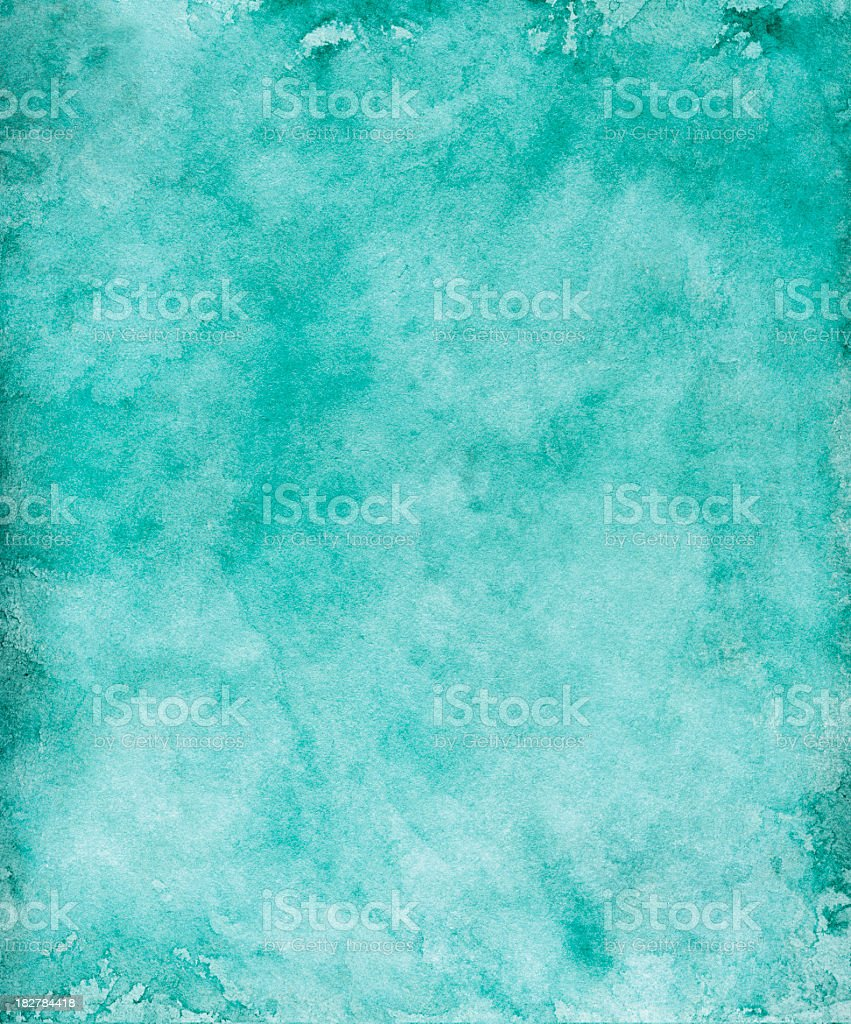 Blue Grunge Paper Background royalty-free stock photo