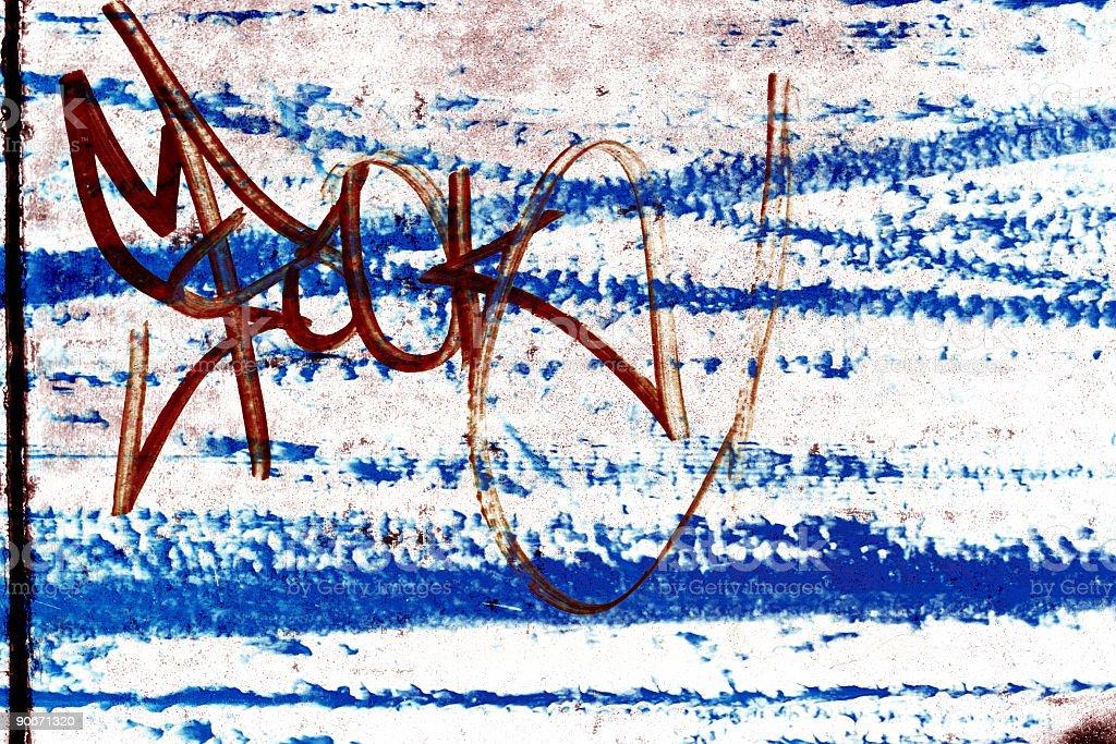 Blue Grunge royalty-free stock photo