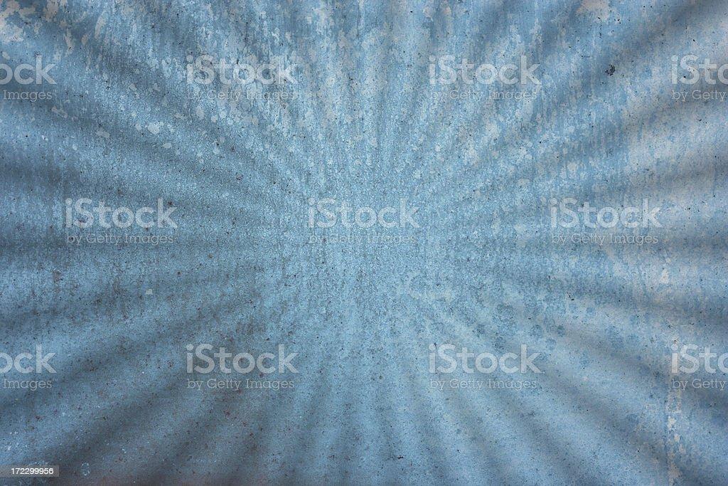 blue Grunge starburst Ripple background stock photo