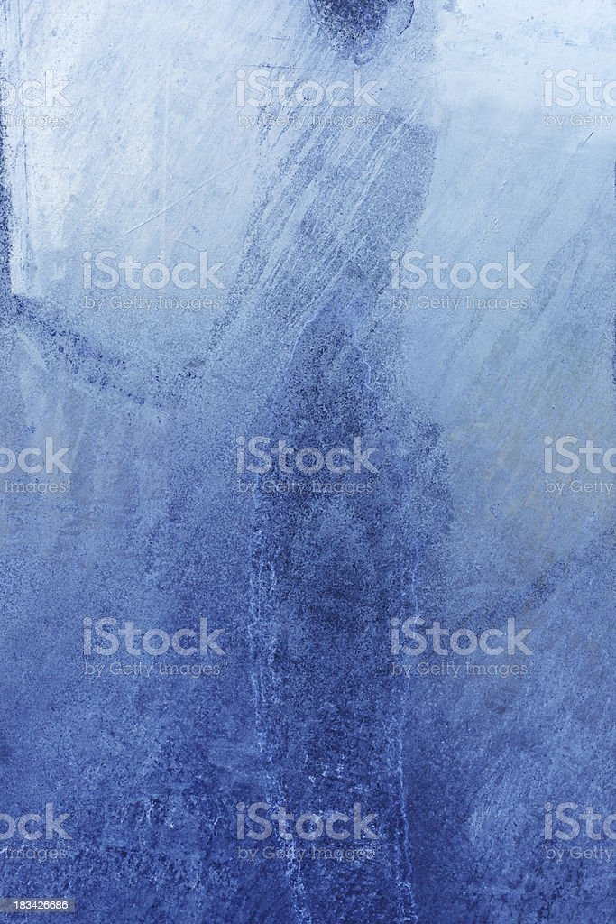 Blue grungy steel texture/ Background royalty-free stock photo