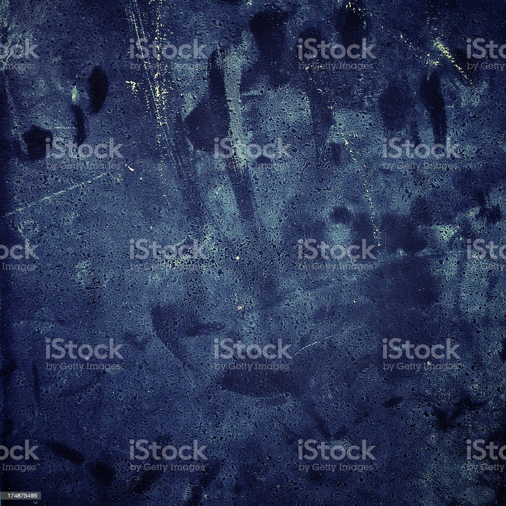 Blue grungy texture royalty-free stock photo