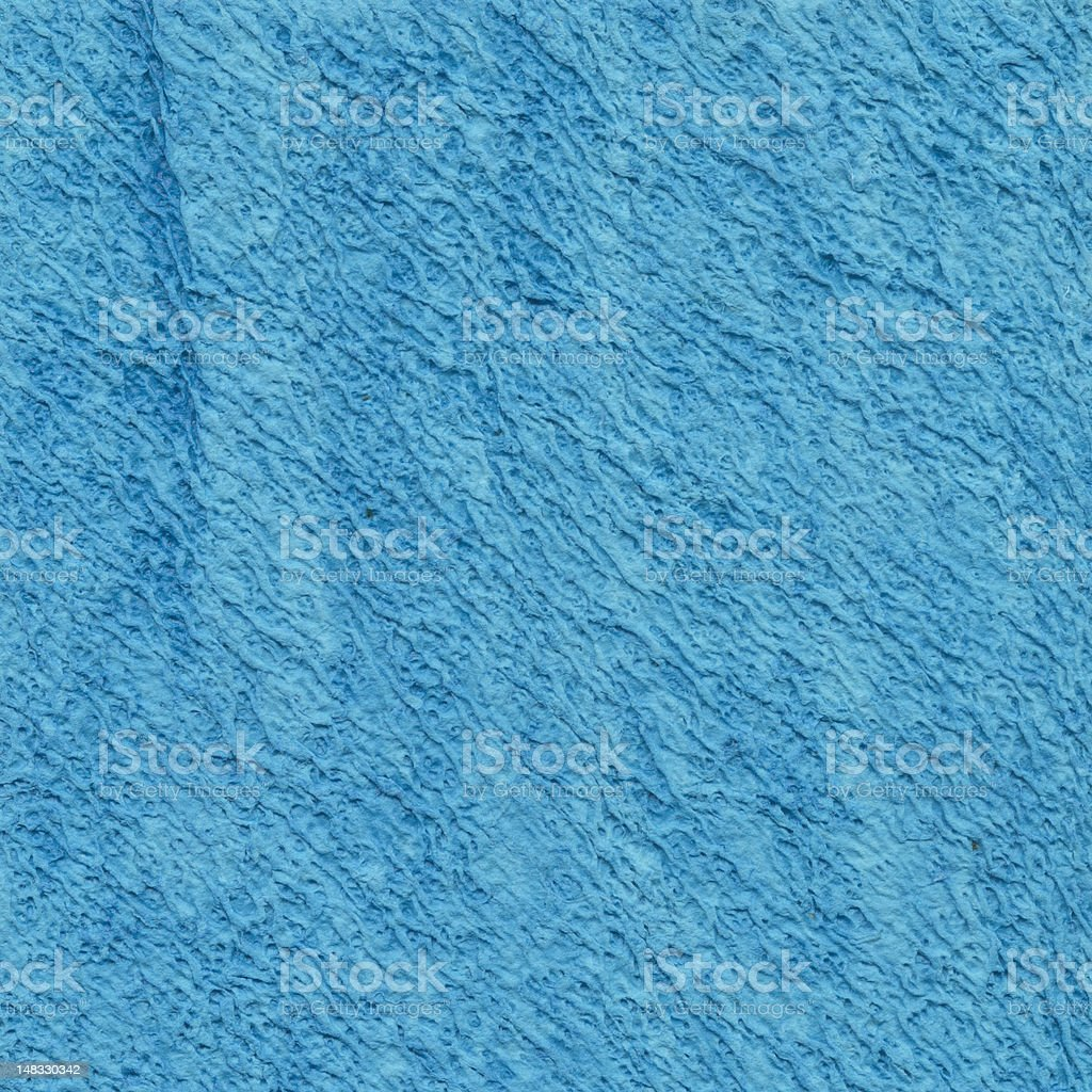 Blue handmade paper royalty-free stock photo