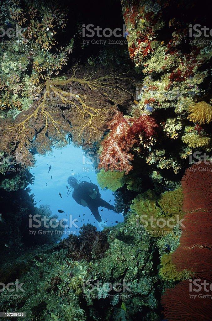 Blue Hole stock photo