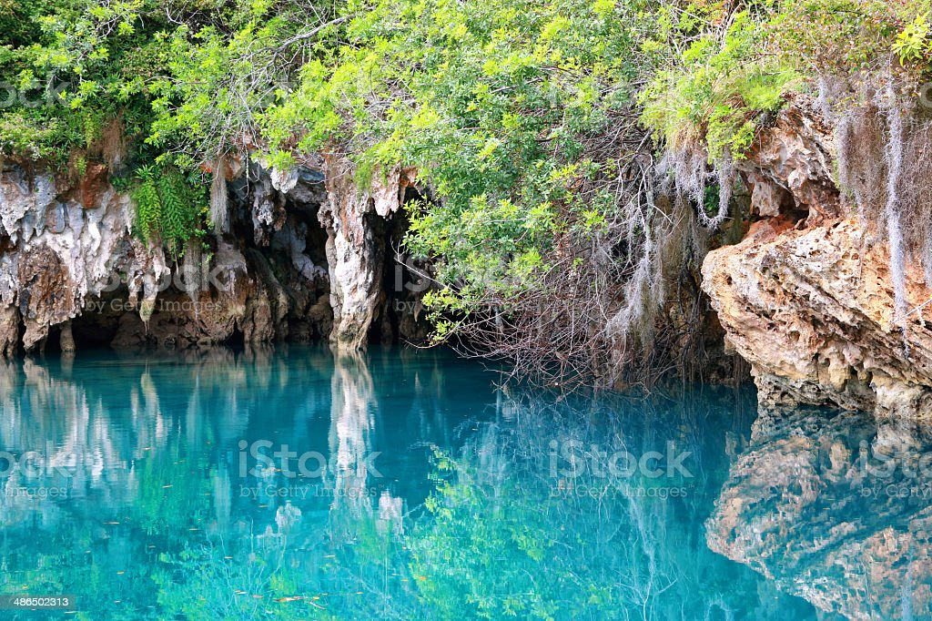 Blue Hole stock photo