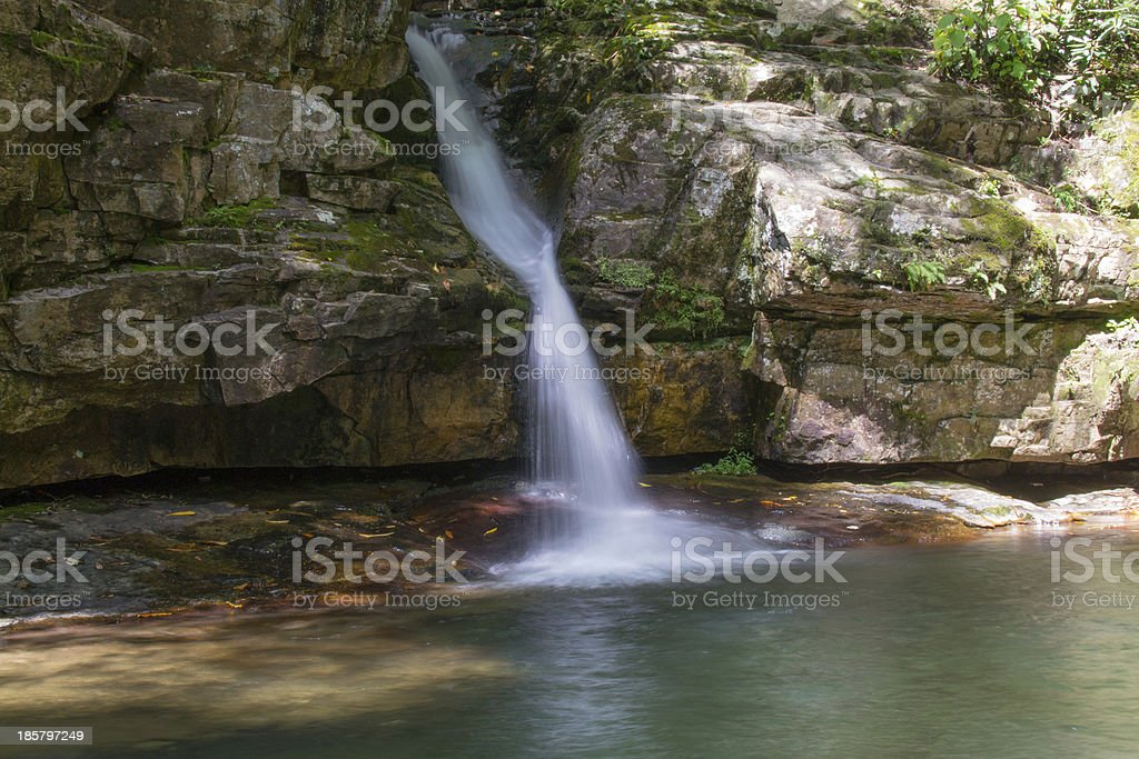 Blue Hole Waterfall royalty-free stock photo