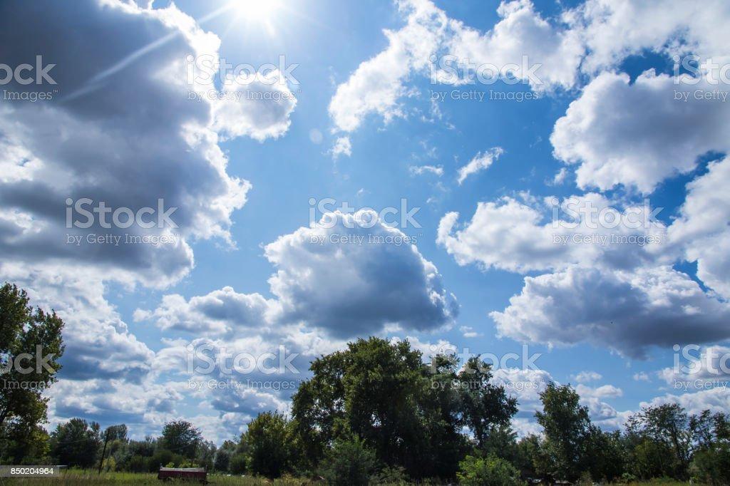 Blue Horizon stock photo