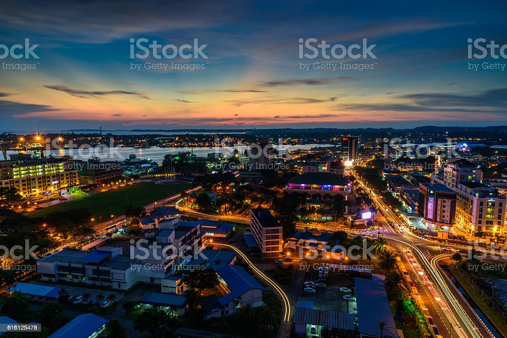 Blue Hour stock photo