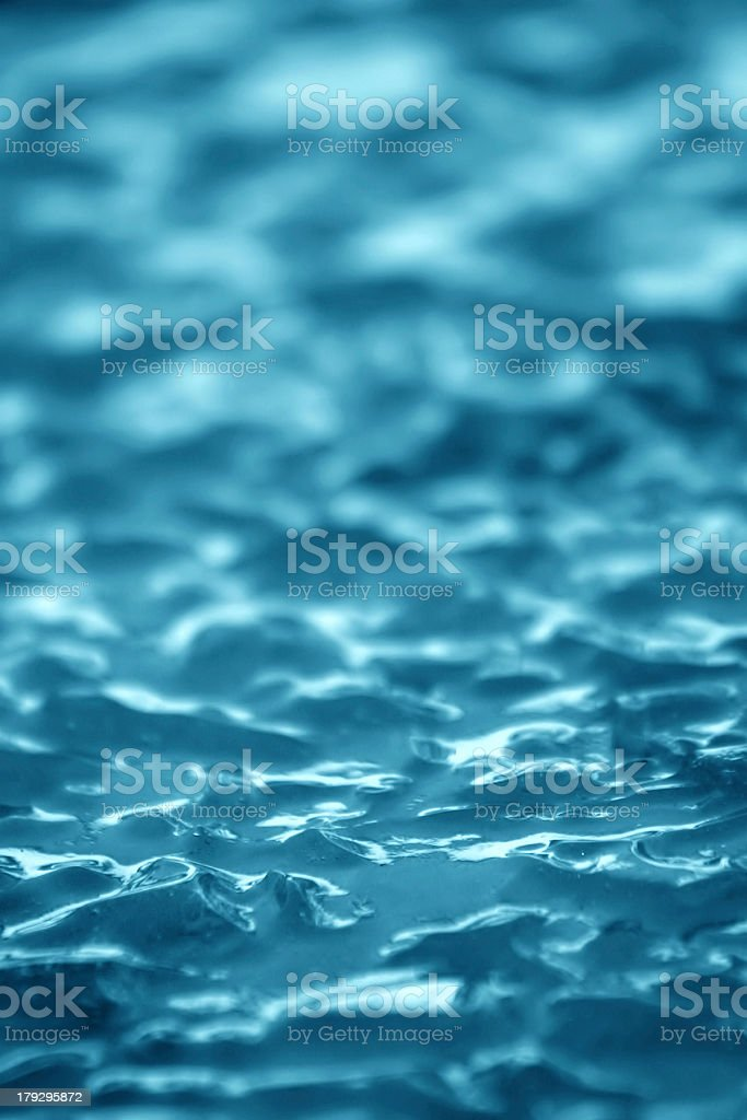 Blue Ice Texture II royalty-free stock photo