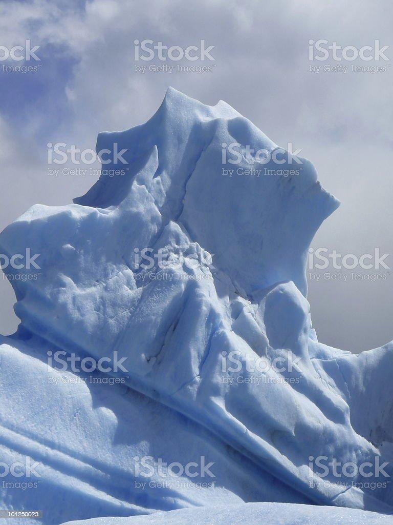 blue ice-berg royalty-free stock photo