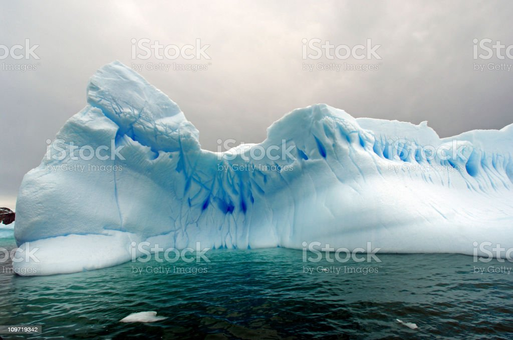 Blue Iceberg royalty-free stock photo