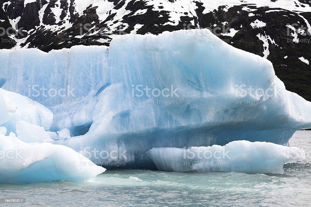 Blue Iceberg stock photo