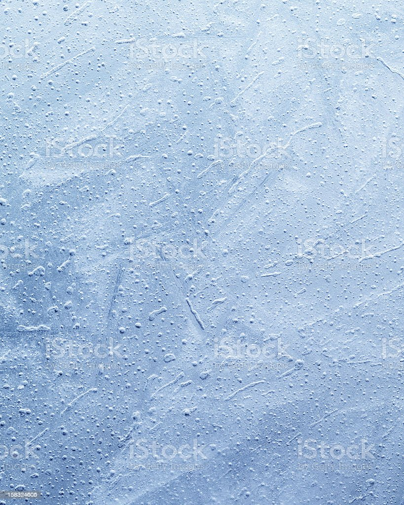 Blue Icy Texture royalty-free stock photo