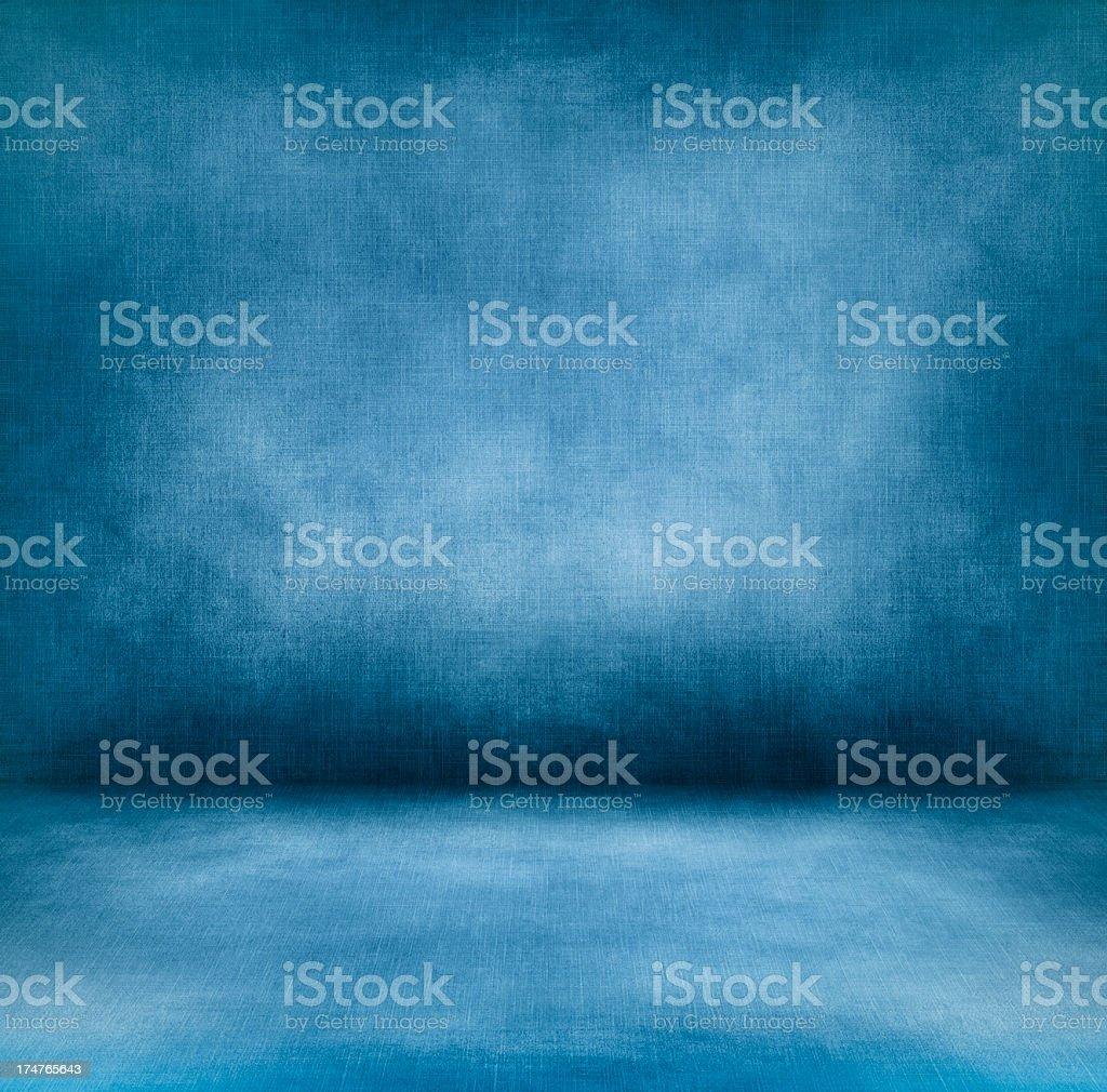 Blue interior XXXL royalty-free stock photo