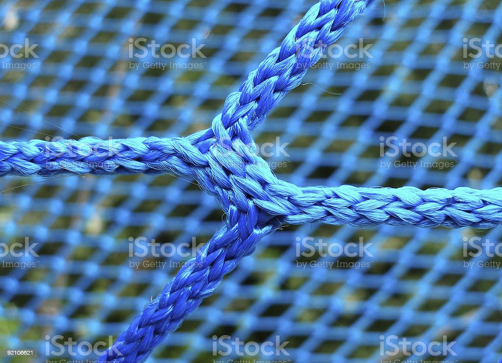 blue interwoven network royalty-free stock photo