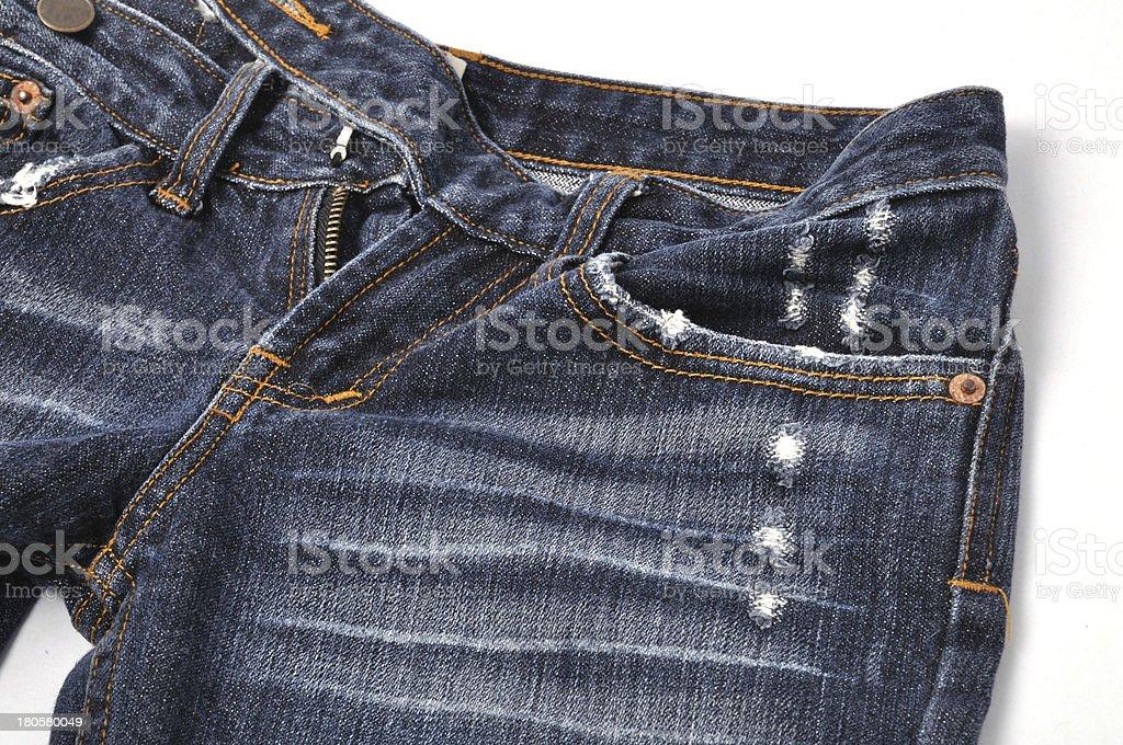 Blue Jean royalty-free stock photo