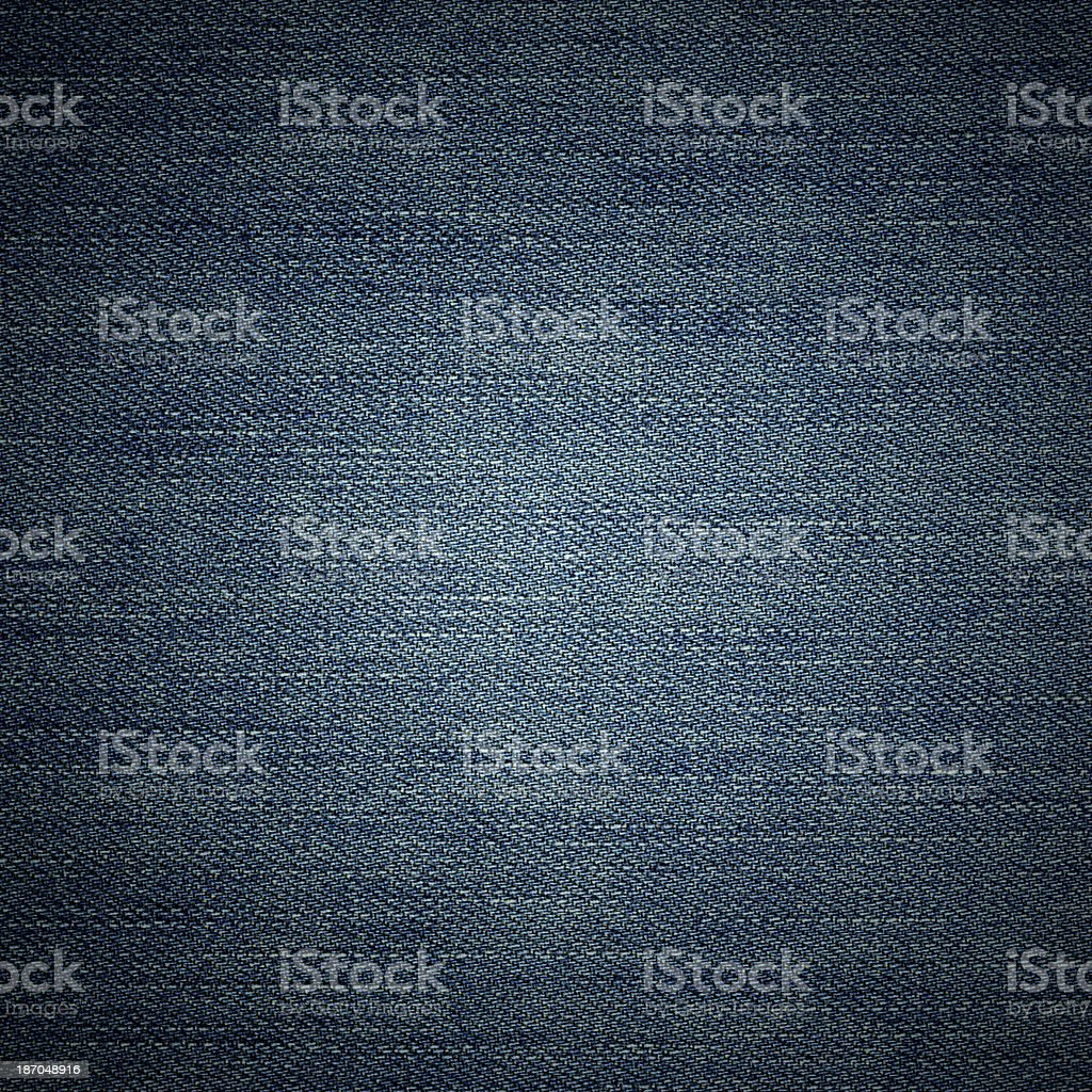 Blue Jeans denim texture background royalty-free stock photo