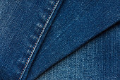 Blue jeans layers