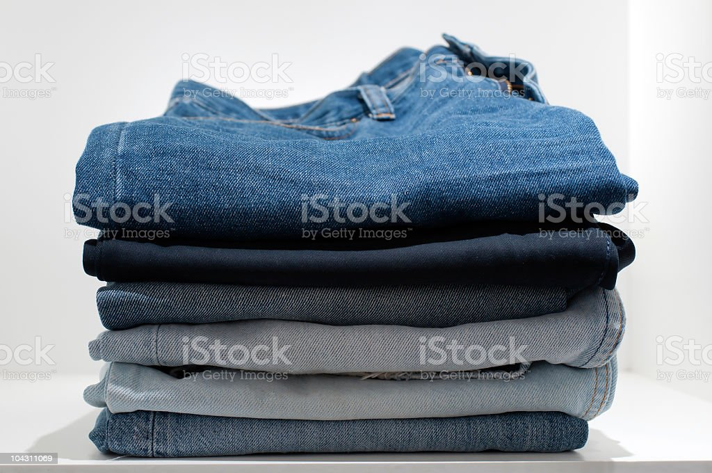 Blue jeans foto stock royalty-free