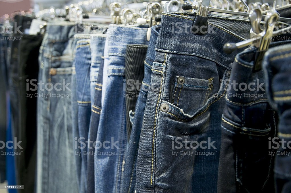 blue jeans royalty-free stock photo