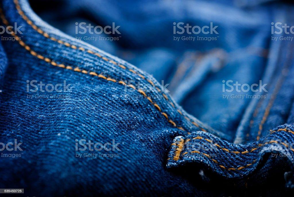 Blue jeans foto de stock libre de derechos