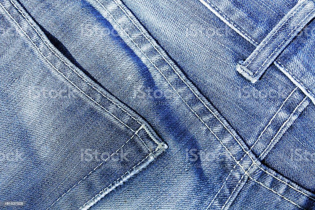 blue jeans texture stock photo