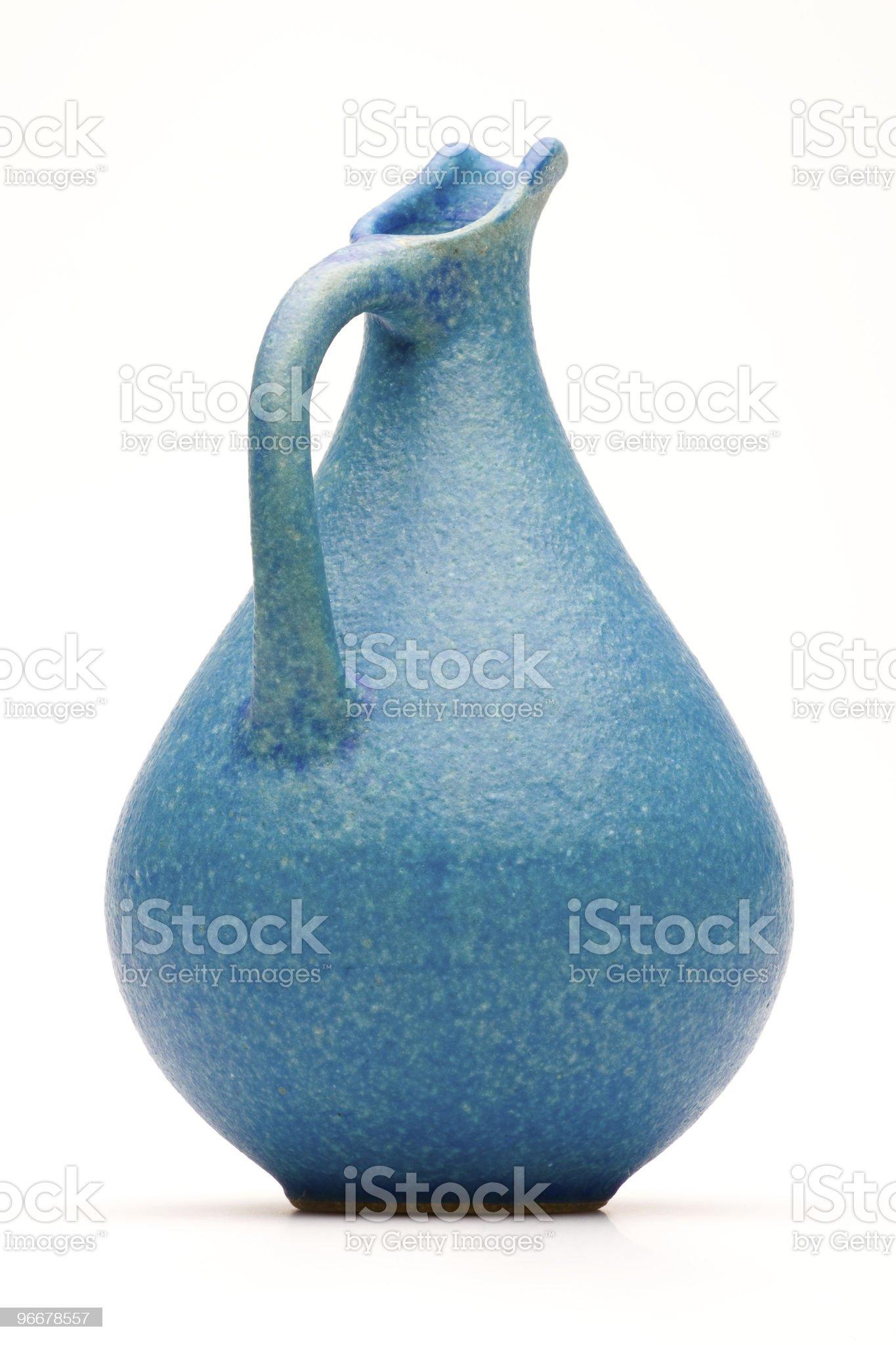 Blue Jug royalty-free stock photo