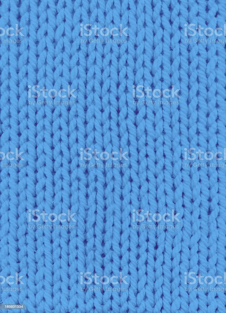 blue knitted background royalty-free stock photo