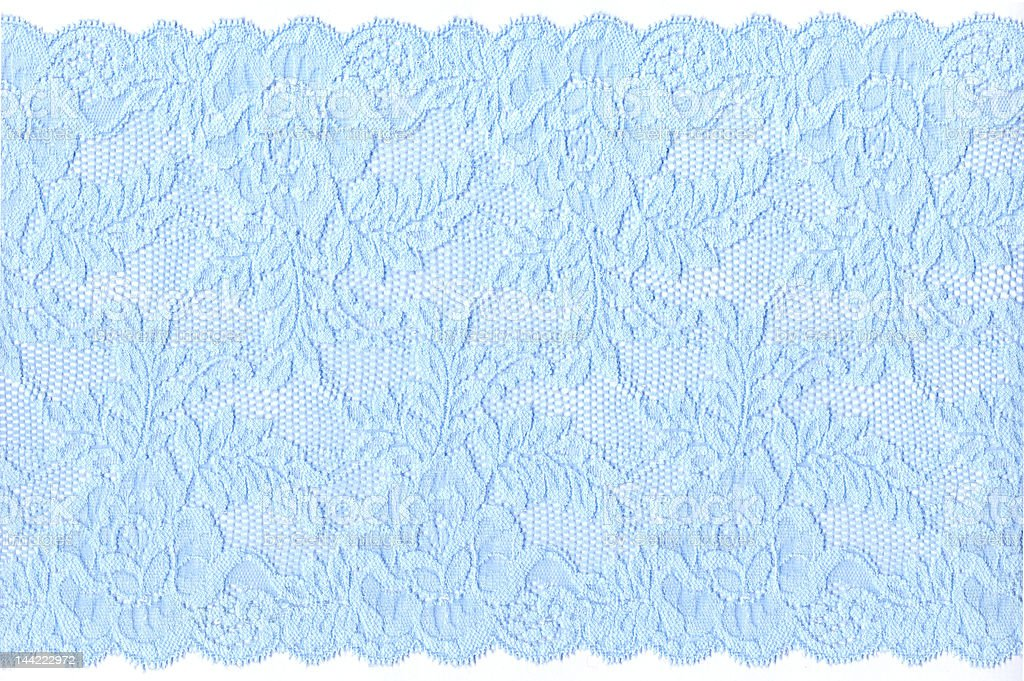 blue lace royalty-free stock photo