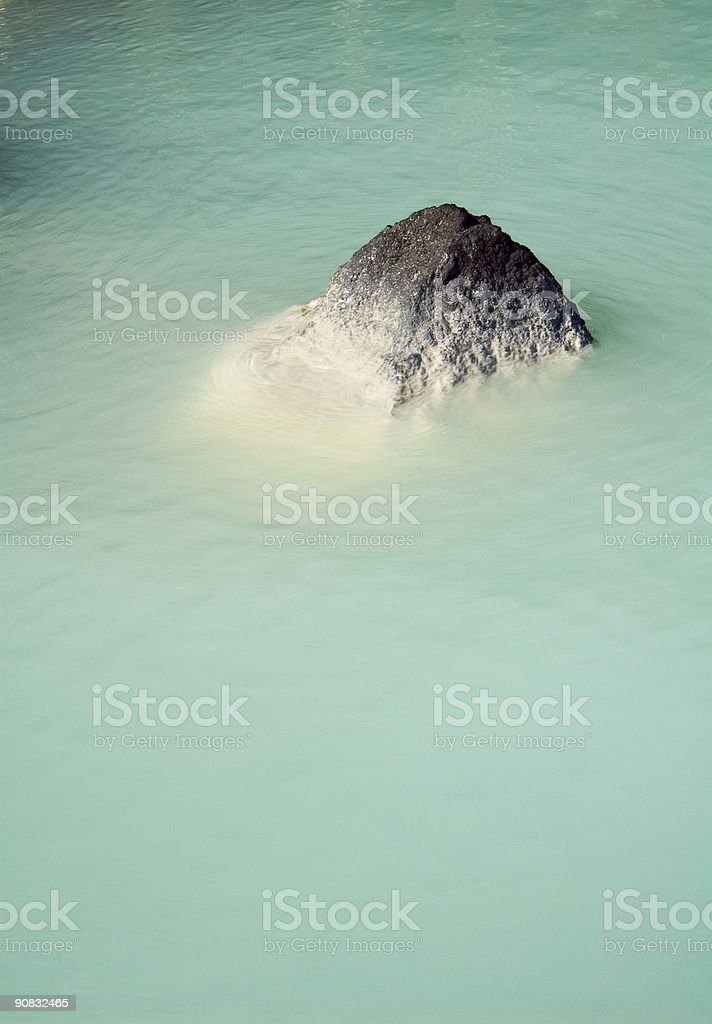 Blue Lagoon 3 royalty-free stock photo