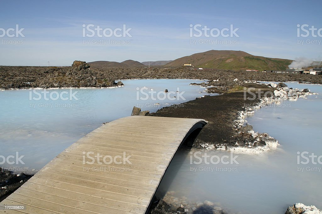 Blue lagoon - Iceland # 3 royalty-free stock photo
