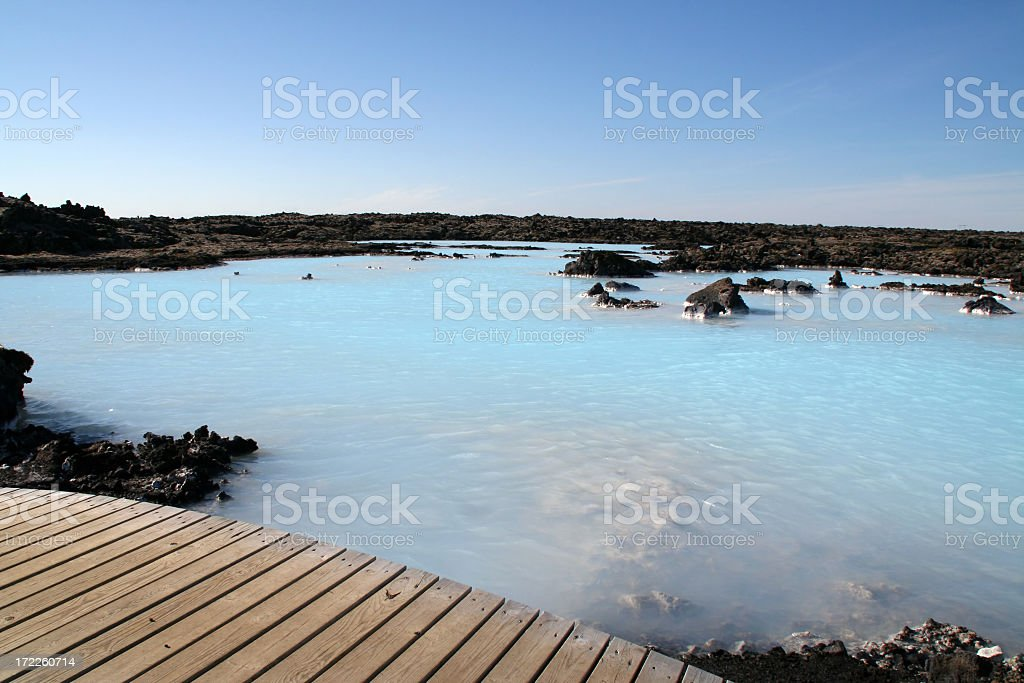Blue lagoon - Iceland # 4 royalty-free stock photo