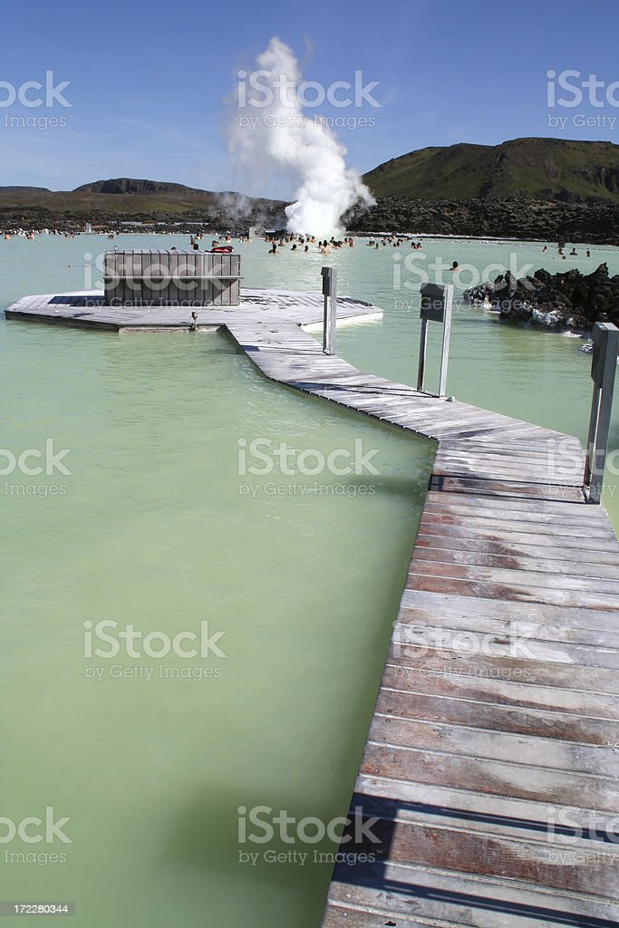 Blue lagoon - Iceland # 5 royalty-free stock photo