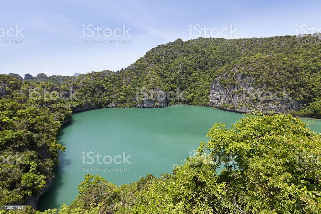 blue lagoon royalty-free stock photo