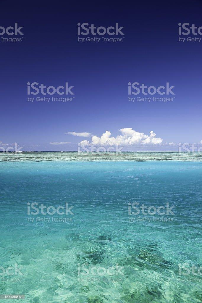 Blue Lagoon royalty-free stock photo