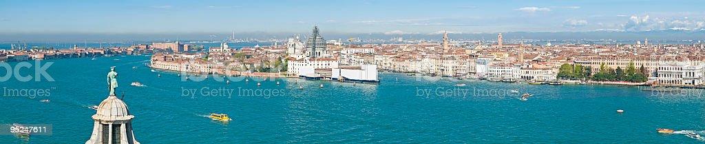Blue lagoon Venice vista royalty-free stock photo