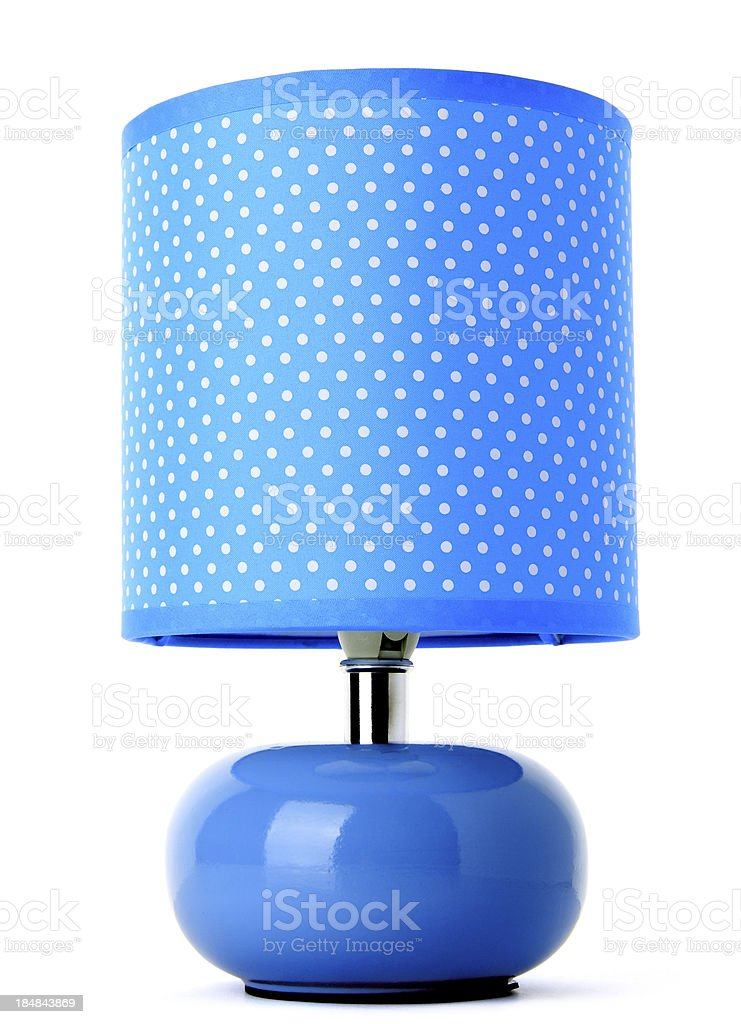 Blue Lamp royalty-free stock photo