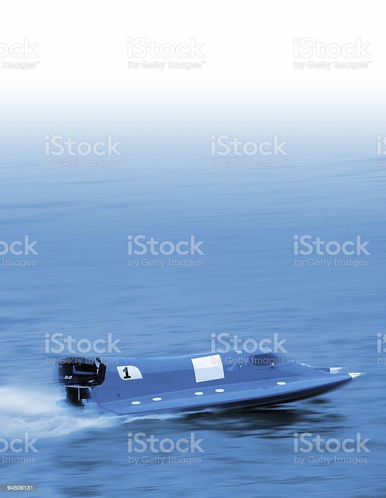 Blue leader stock photo