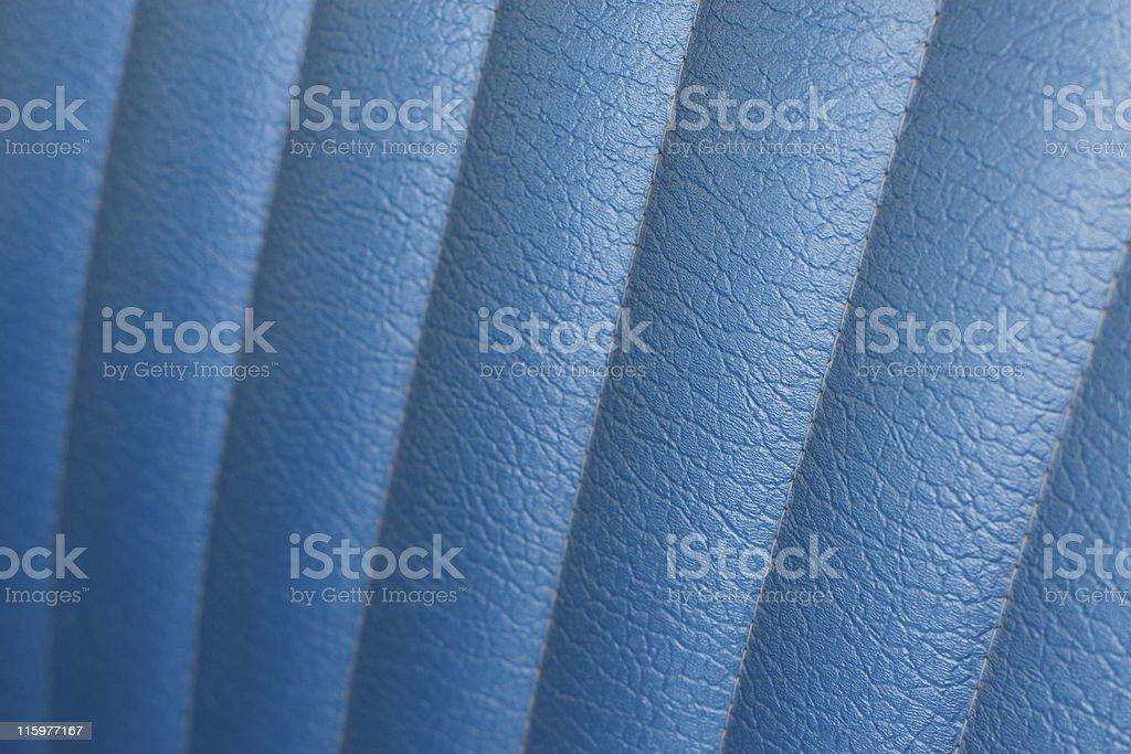 Blue Leather Background royalty-free stock photo