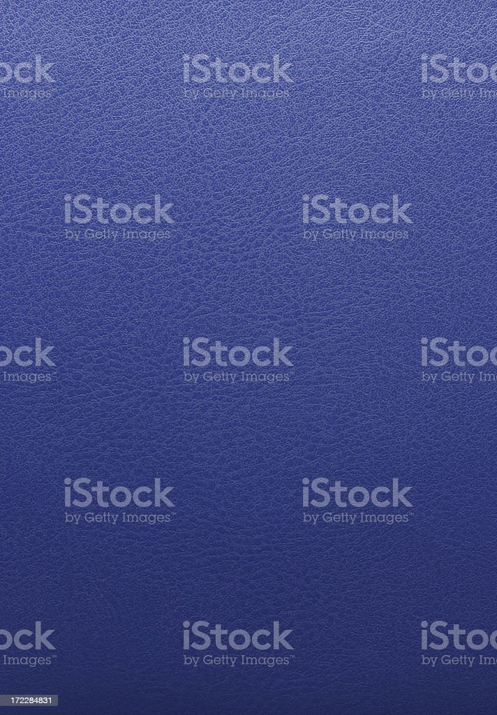 Blue Leather Background royalty-free stock photo