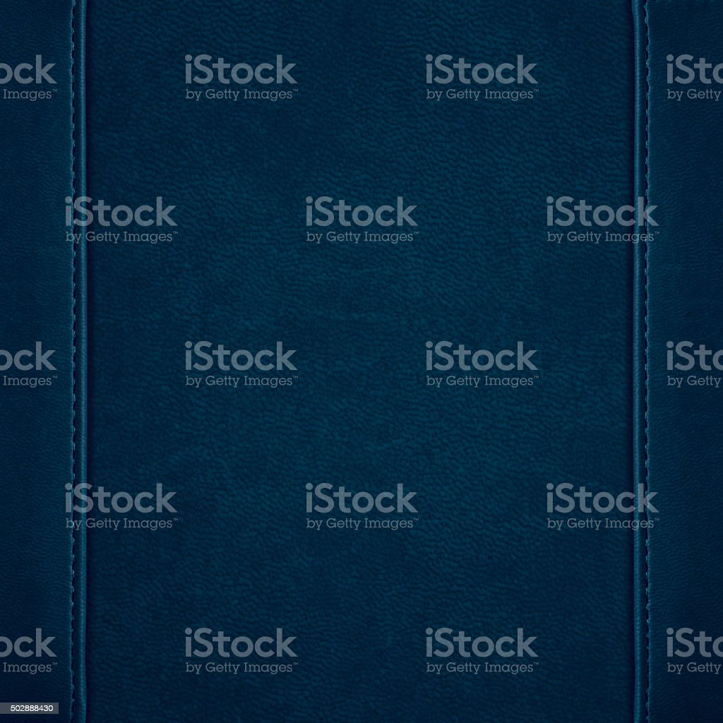 blue leather background stock photo