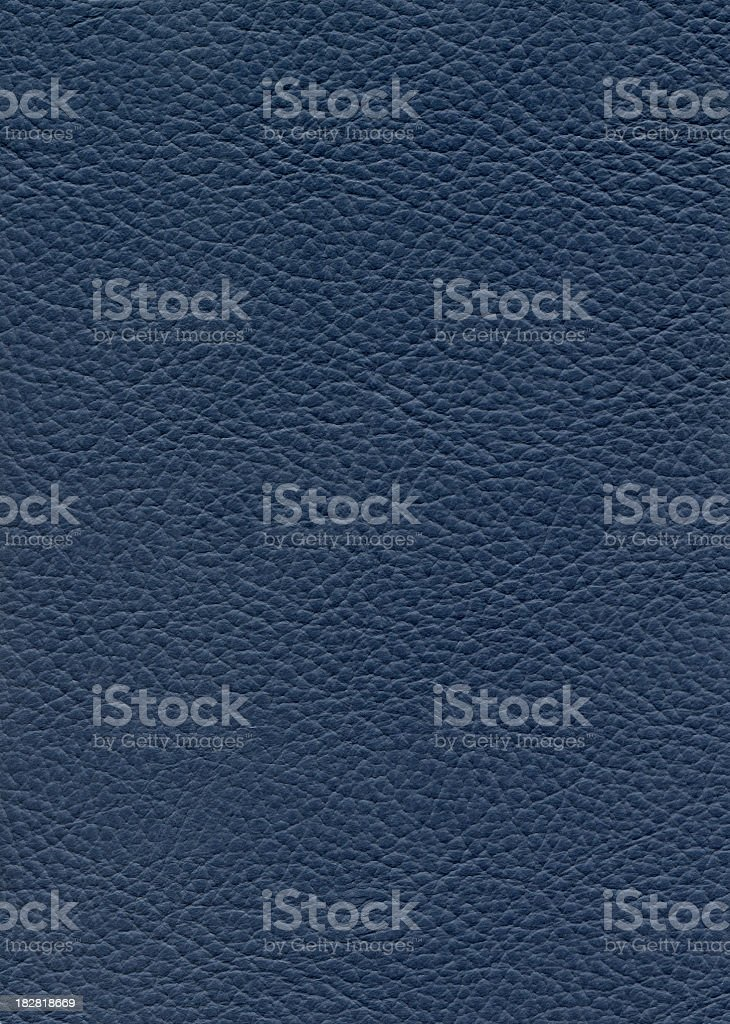 Blue leather royalty-free stock photo