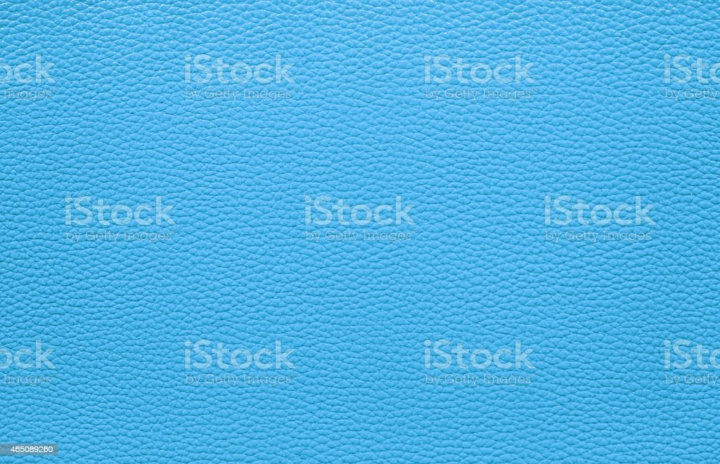 Blue leather texture background in dots stock photo