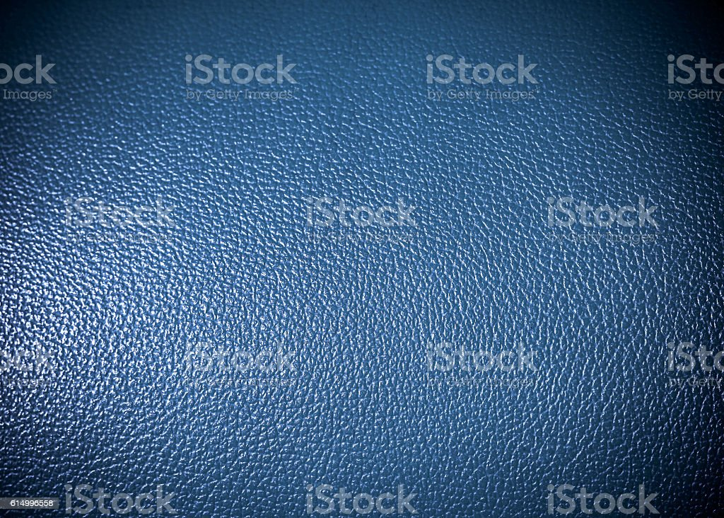 blue leatherette Surface texture as background grung texture vector art illustration